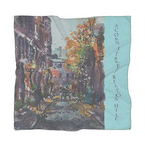 Acorn St, Beacon Hill Poly Scarf