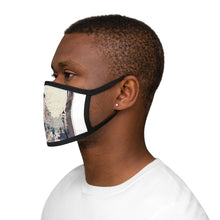 The 'Grog' Mixed-Fabric Face Mask