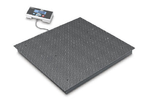 Kern BIC: High resolution floor scale with 2×3000 [d] and the best price to performance ratio
