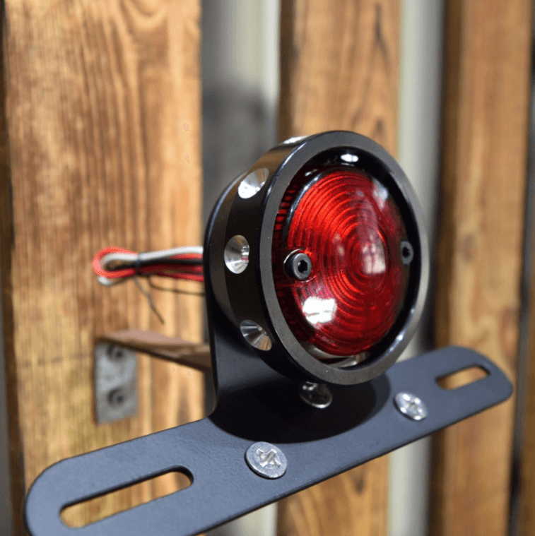 Tail light Wheel CNC black, silver or brass – REMMOTORCYLE