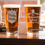 Limited Edition Philadelphia Eagles Beer Glass