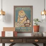 Kitty Biscuits Poster