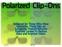 Polarized Clip-Ons Collection