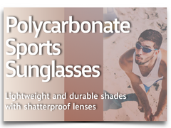 PolyCarbonate Sports Sunglasses Collection