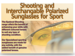 Sports and Shooting sunglasses