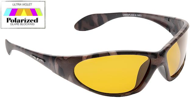 Camouflage Yellow - Sports Glasses