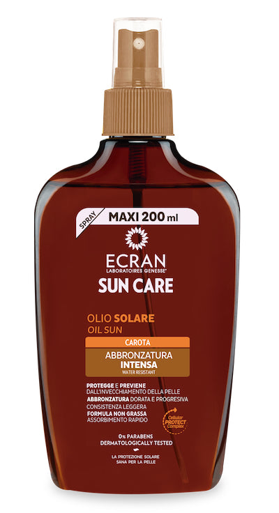 ECRAN -  CARROT SUN OIL SPRAY SPF2/200ml
