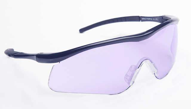 Impact Purple Shooting Glasses
