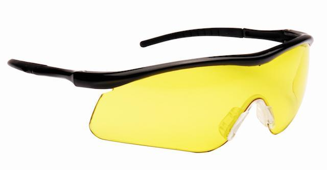 Impact Yellow Shooting Glasses