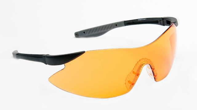 Target Orange Shooting Glasses