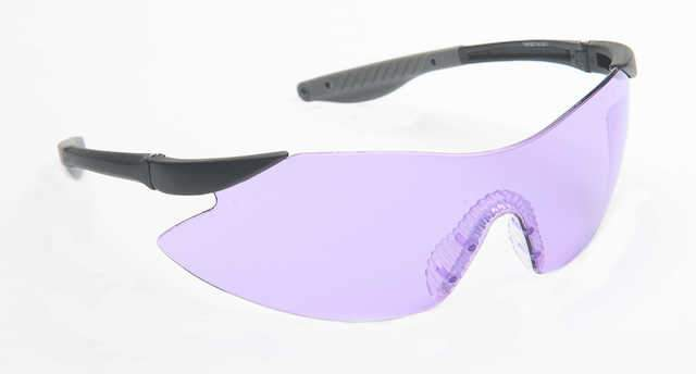 Target Purple Shooting Glasses
