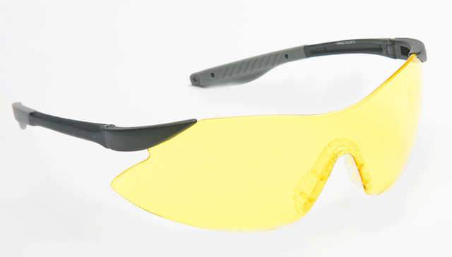 Target Yellow Shooting Glasses