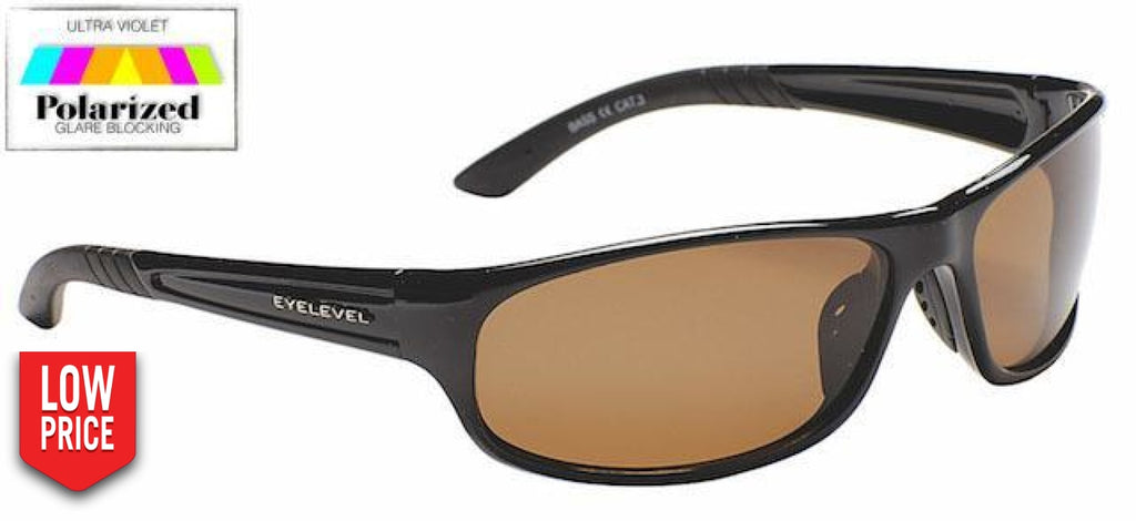 Bass Brown Polarized Sports Glasses