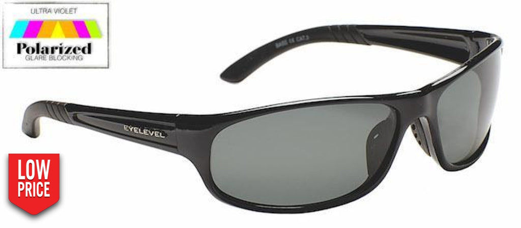 Bass Grey Polarized Sports Glasses