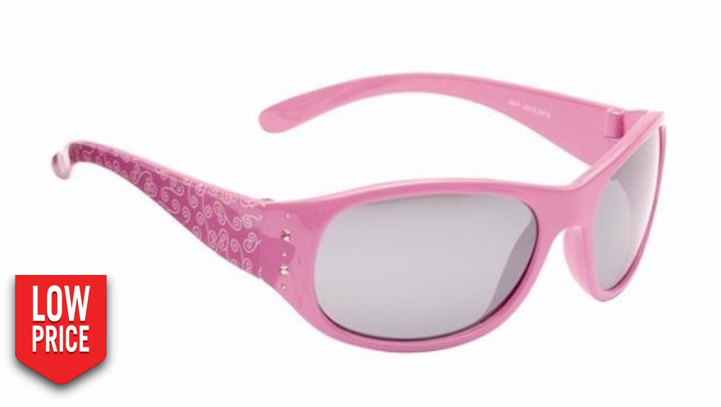 Crystal Pink Kids Sunglasses