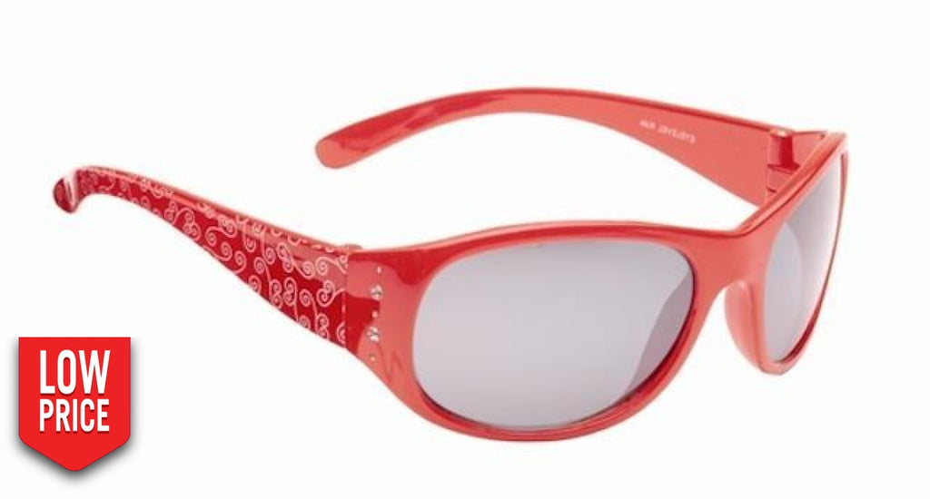 Crystal Red Kids Sunglasses