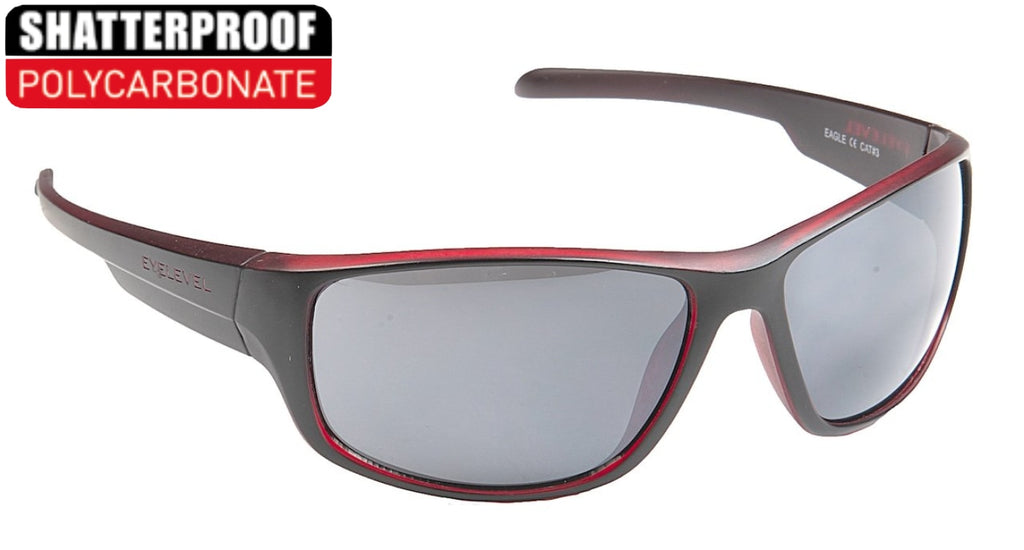 Eagle Red Polycarbonate Sports