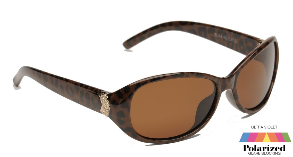 Elsa Sunglasses Brown Polarized Ladies
