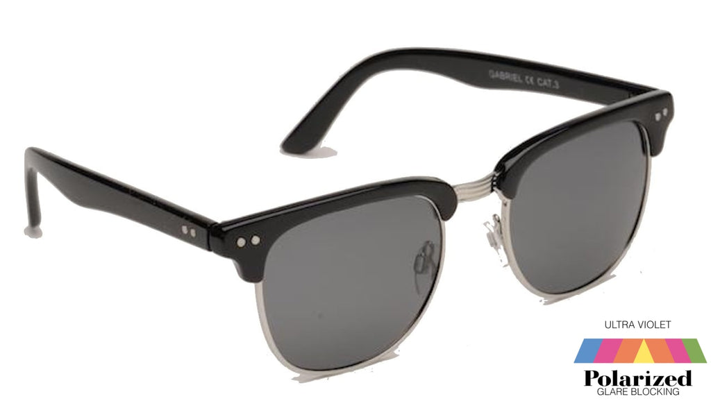 Gabriel Black Polarized Ladies Sunglasses