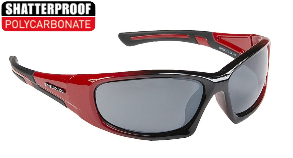Hawk Red Polycarbonate Sports