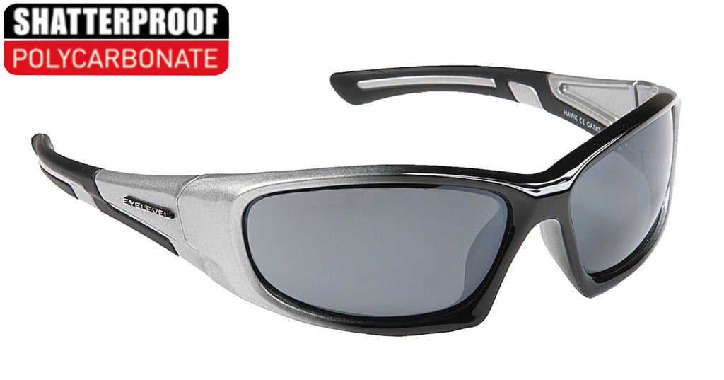 Hawk Silver Polycarbonate Sports