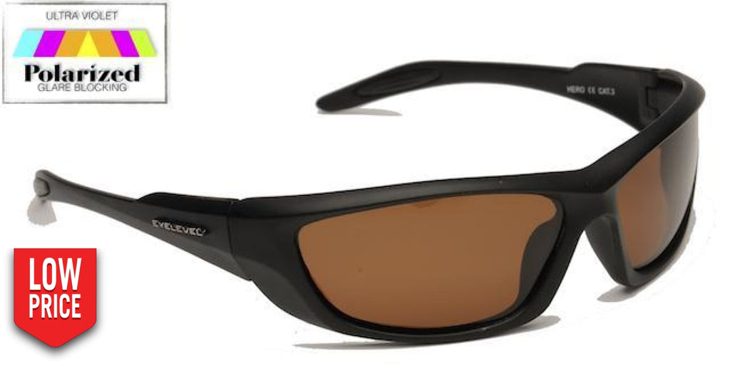 Hero Brown Polarized Sports Glasses