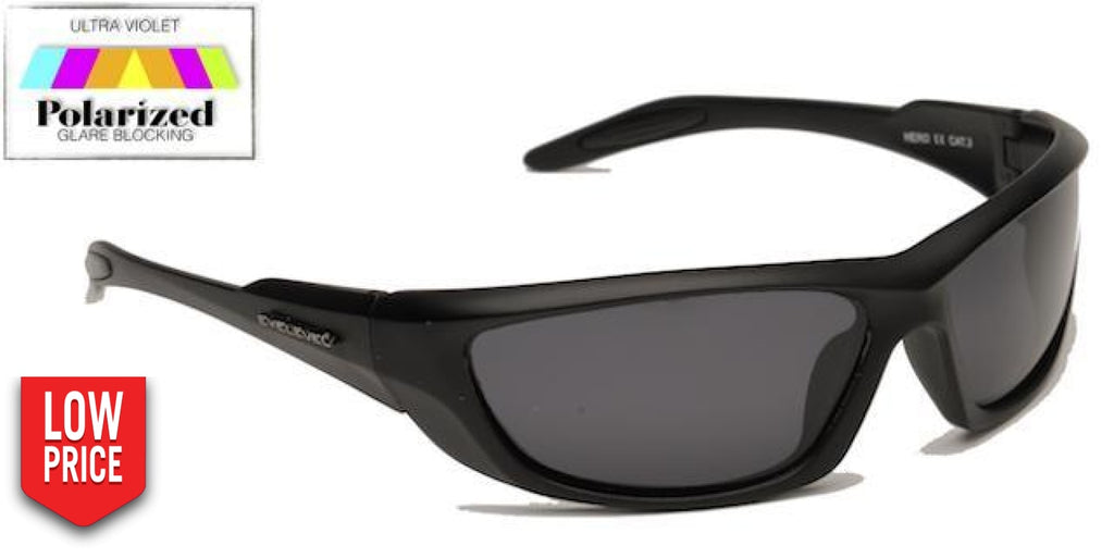 Hero Grey Polarized Sports Glasses