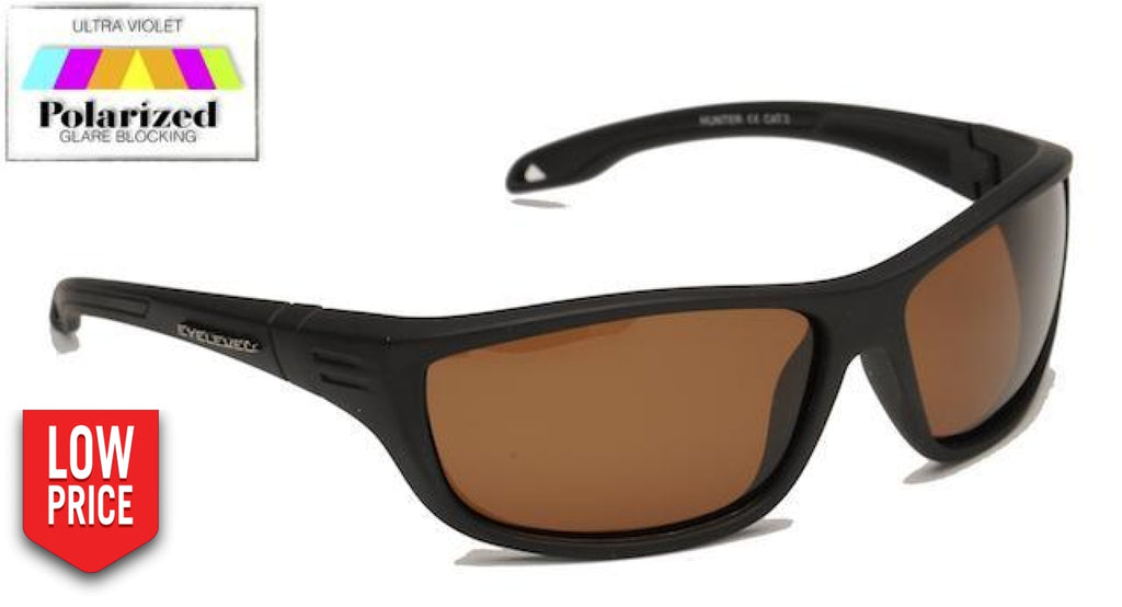 Hunter Brown Polarized Sports Glasses