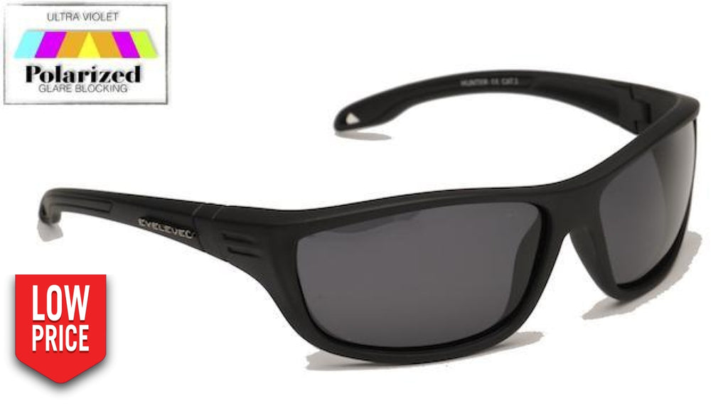 Hunter Grey Polarized Sports Glasses