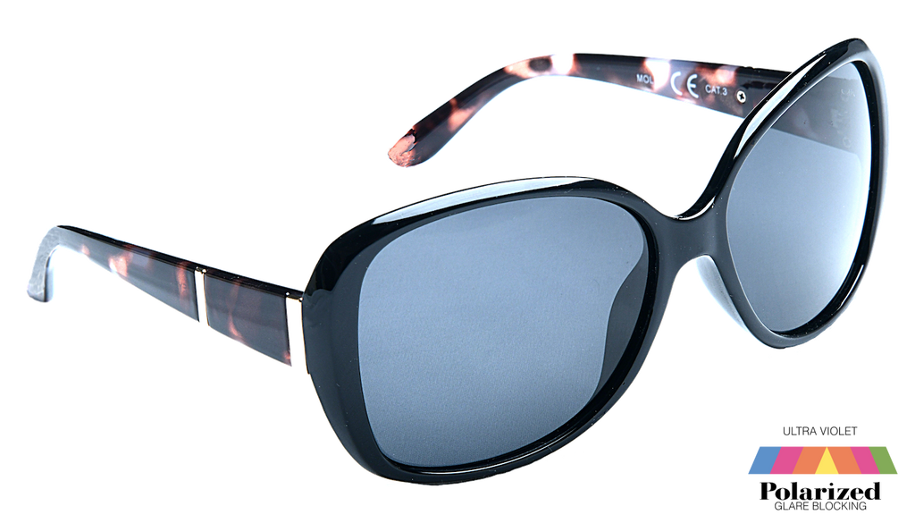 Molly Black Polarized Ladies Sunglasses