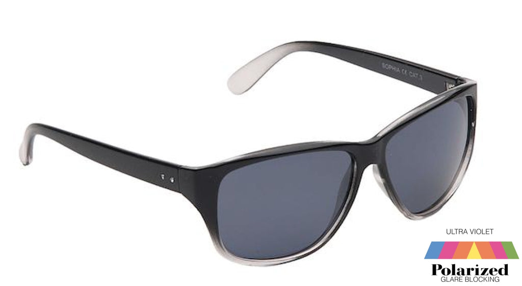 Sophia Black Polarized Ladies Sunglasses