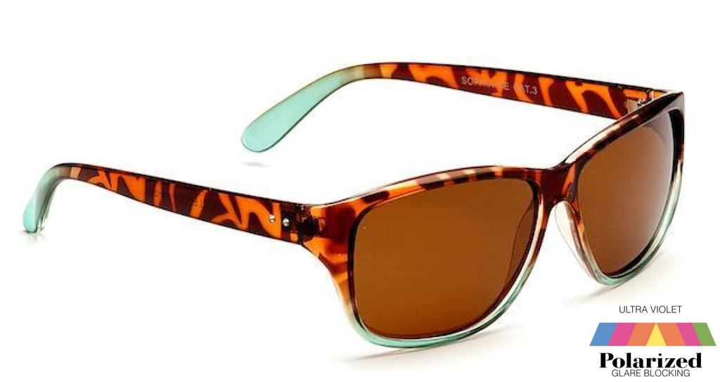 Sophia Tortoiseshell Polarized Ladies Sunglasses