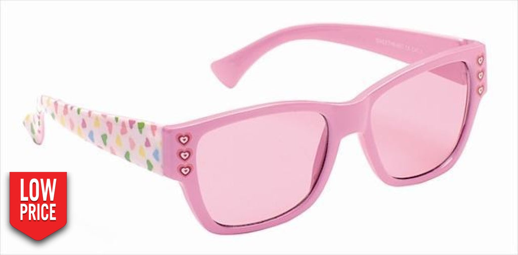 Sweetheart Pink Kids Sunglasses