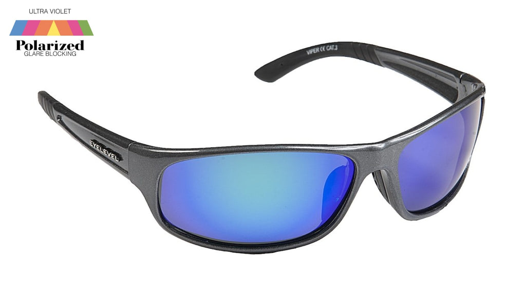 Viper Blue Polarized Sports Glasses