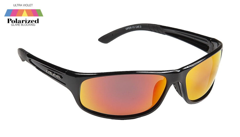 Viper Red Polarized Sports Glasses