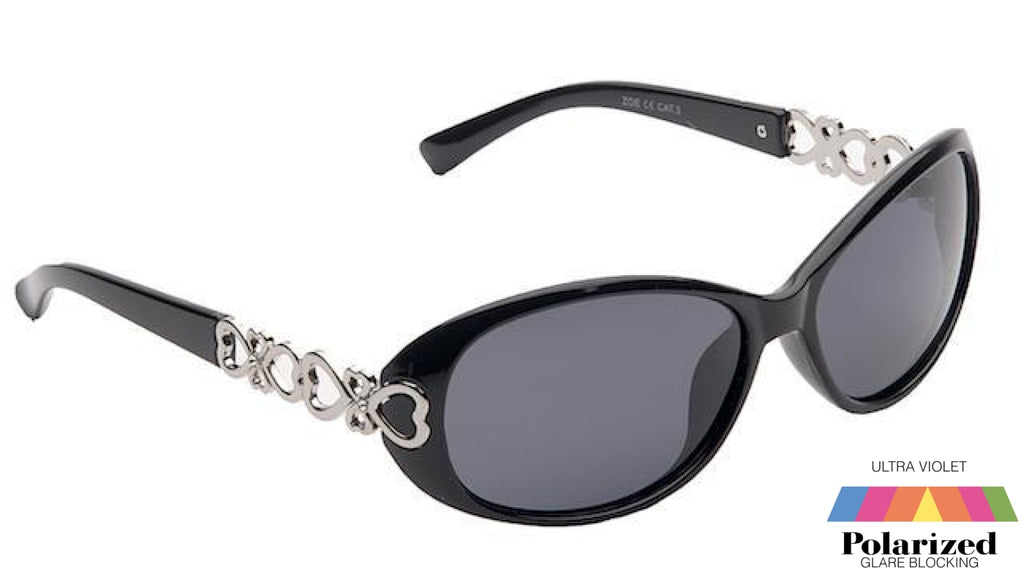 Zoe Black Polarized Ladies Sunglasses