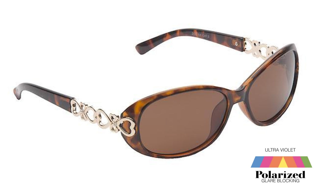 Zoe Tortoiseshell Polarized Ladies Sunglasses