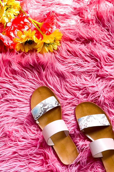 Moon Dancer Sandals In Pink - Atomic Wildflower