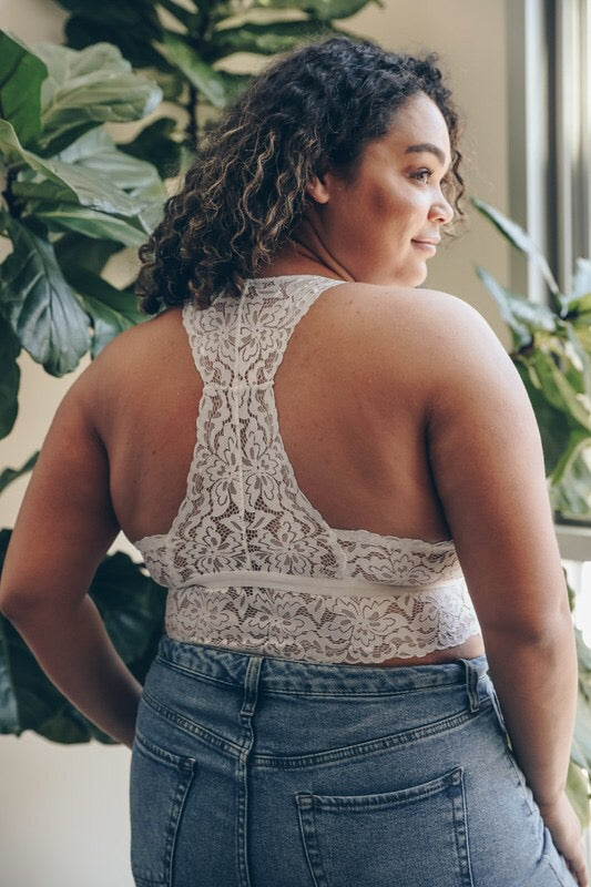 Wildflower Lace Bralette - Atomic Wildflower