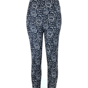 Midnight Rose Leggings - Atomic Wildflower