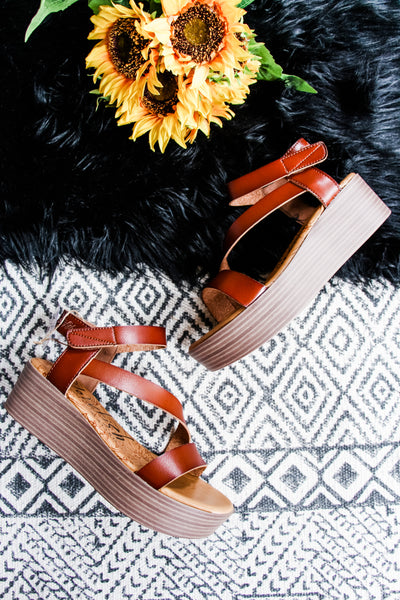 Blowfish Malibu Lover Wedge Sandal • Scotch - Atomic Wildflower
