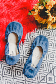 The Storehouse Flats - Graceland • Suede Collection - Atomic Wildflower