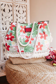 Loungefly Disney Moana Floral Tote Bag - Atomic Wildflower