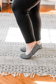 The Storehouse Flats - Houndstooth • Suede Collection - Atomic Wildflower