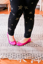 The Storehouse Flats - Fuchsia • Rainbow Collection - Atomic Wildflower