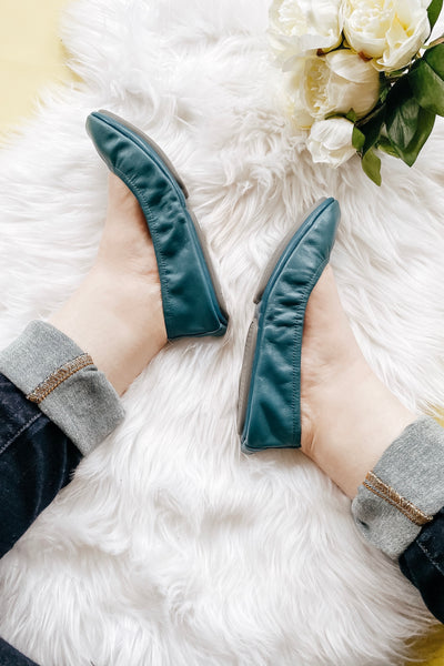 The Storehouse Flats • Teal - Atomic Wildflower