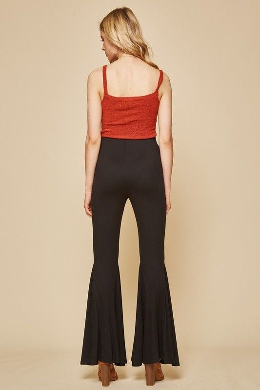 Bodacious Black Bell Bottoms - Atomic Wildflower