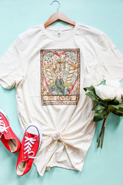 The Lovers Tee - Atomic Wildflower