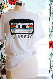 Distressed Classic Mix Tape Tee - Atomic Wildflower