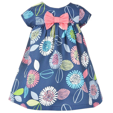 The Charming Floral Dress for Back to School Day - Fairybi